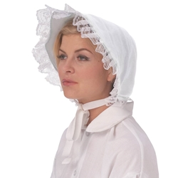 Bonnet - Lace Trim