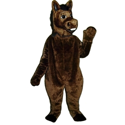 Brown Donkey Mascot - Sales