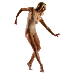 Adult Camisole Leotard with Clear Straps – Capezio Style 3532