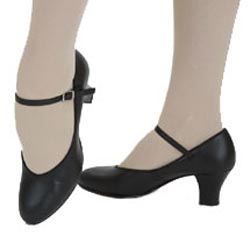 Capezio Student Footlight™ 650 - Black