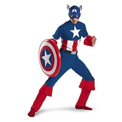 Captain America Adult Costume