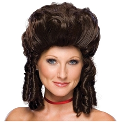 Colonial Lady Wig - Economy