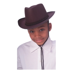 Brown Kids Cowboy Hat