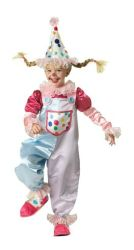 Cutie Clown - Deluxe Child Costume