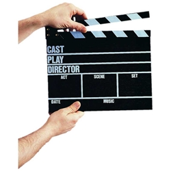 Director's Clapper Board/Clacker Board