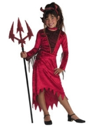 Divine Devil Child Costume