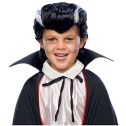 Dracula / Vampire Wig - Economy - Fits Both Adults and Children