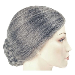 Old Lady Wig Bargain Old Age Wig Bun Wig