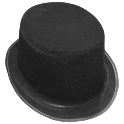 Economy Top Hat - Flocked
