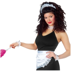 Deluxe French Maid Costume Accessory Kit