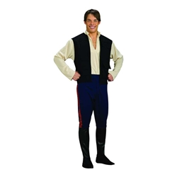 Han Solo Deluxe Adult Costume - Star Wars