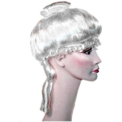 Ladies Colonial Wig - Deluxe