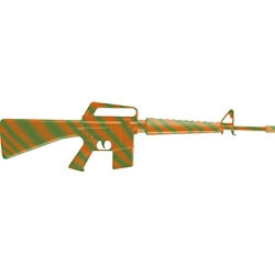 M-16 Machine Gun - Action Sound