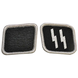 Nazi S.S. Collar Patch