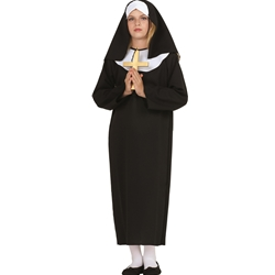 Nun Child Costume