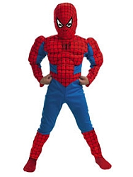 Spiderman Muscle Child - Deluxe Costume