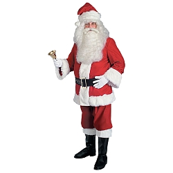 Super Deluxe Extra Lage Santa Suit - Adult Costume