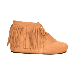 Tan Womans Indian Ankle Boots