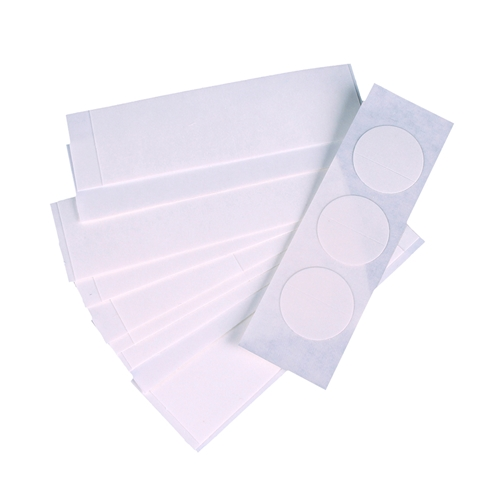 Theatrical Adhesive Tape Strips and Dots for Wigs, Beards, and Moustaches