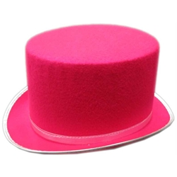 Top Hat - Hot Pink