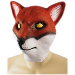 Red Fox Mask - Adult