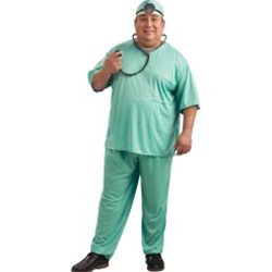 Doctor – Adult Plus Size Costume