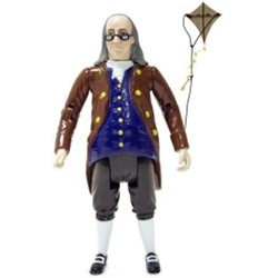 Benjamin Franklin Action Figure
