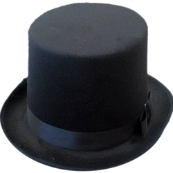 Felt Tall Top Hat