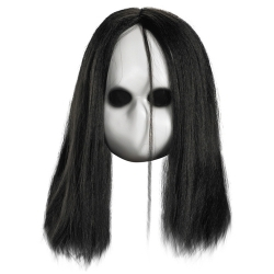 Blank Doll Mask with Black Eyes