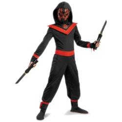 sc 1 st  The Costumer & Neon Ninja Kids Costume