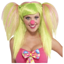 Lollipop Lilly Clown Wig