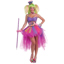 Circus Sweetie Rainbow Clown Tutu