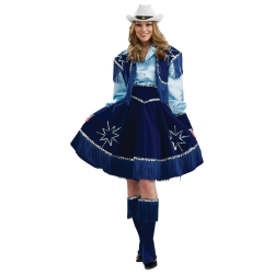 Cowgirl Deluxe Adult Costume