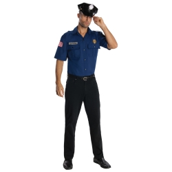 sc 1 st  The Costumer & Police Officer Adult Costume