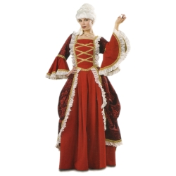 Fancy Colonial Lady Deluxe Adult Costume