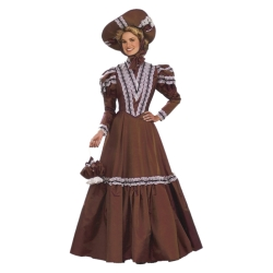 Afternoon Dress Circa 1901 Deluxe Adult Costume