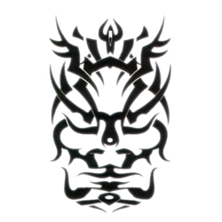 Tribal Face Temporary Tattoos