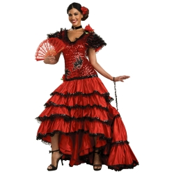 Spanish Beauty Deluxe Adult Costume