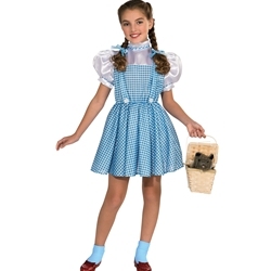 Wizard of Oz Dorothy Gale Kids Costume