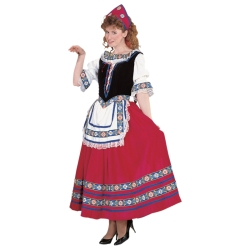 Peasant Girl Deluxe Adult Costume