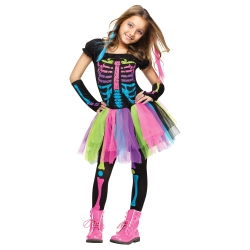 Funky Punk Bones Kids Costume