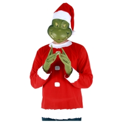 How the Grinch Stole Christmas Grinch Adult Costume
