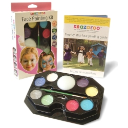 Snazaroo Face Painting Palette for Girls