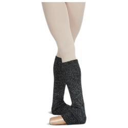 "18"" Adult Leg Warmers with Metallic Sheen – Capezio 10380"