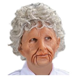 Super Soft Old Woman Mask