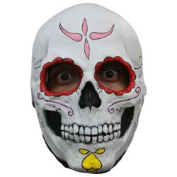 Catrina Skull Day of the Dead Female Mask