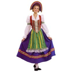 Russian Peasant Girl Deluxe Adult Costume