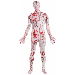 Bloody Skin Suit Teen Costume