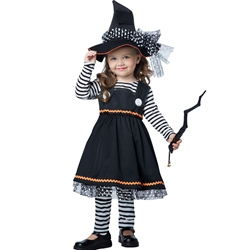 Crafty Little Witch Toddler Costume