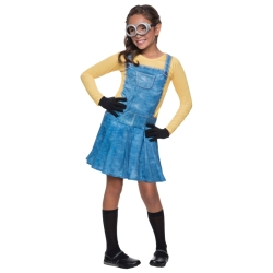 Despicable Me Girl Minion Kids Costume